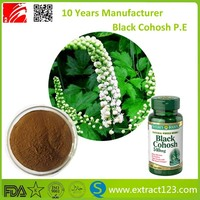 Manufacture Factory Supply 100% Nature Black Cohosh Extract