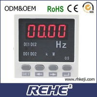 digital panel mount ac transmitter frequency meter RH-F81