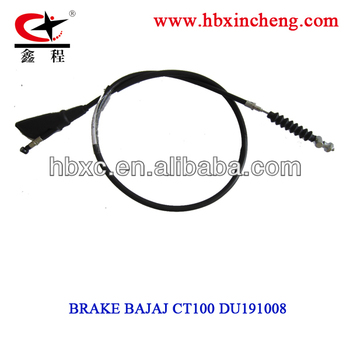 motorcycle brake cable CT100 for Colombia, motorcycle spare parts