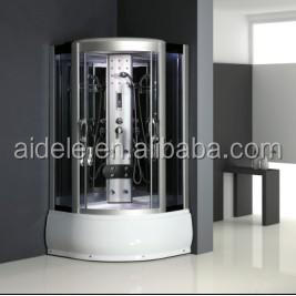 ADL-8201 new arrival corner comfortable deluxe steam sauna shower room