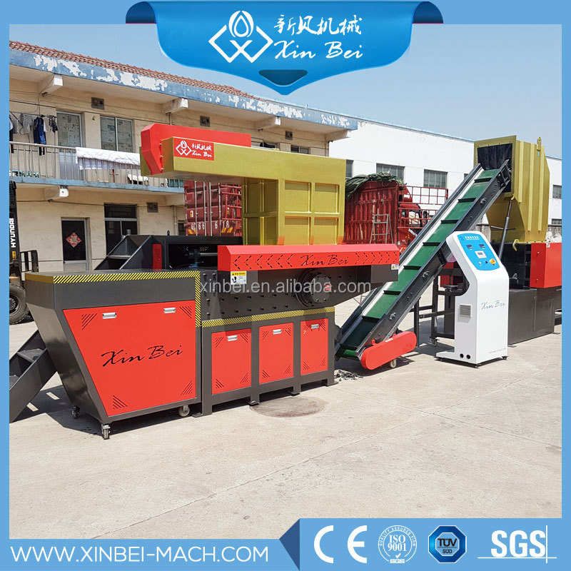 Single Shaft shredder machine/shredding unit for rubber/plastic