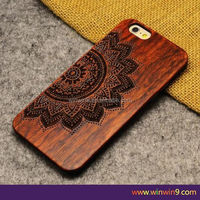 mobile cover wood for iphone 6 plus,hot sale OEM custom mobile phone wood back cover case