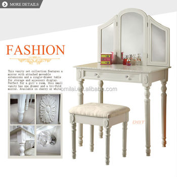 Antique french dressing table in dressers