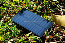 Customized 6V 0.9W Small Size Solar Panel for toys
