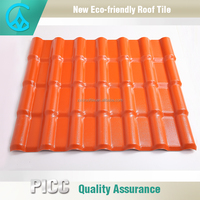 Volume-production wholesale water proof shiny roofing tile