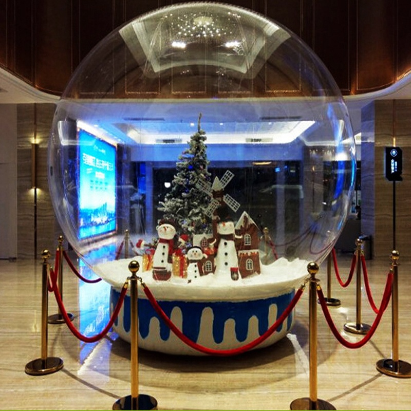 Best popular life size snow globe clear inflatable dome for live <strong>show</strong>