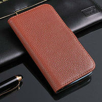 Litchi pattern leather flip cover for galaxy s4, case for samsung galaxy s4 i9500, leather purse case for samsung galaxy s4