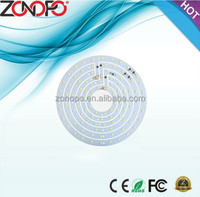 48w high power ceiling light 3000km 6000k smd 2835 ac motor led pcb zonopo ac fan light pcb board