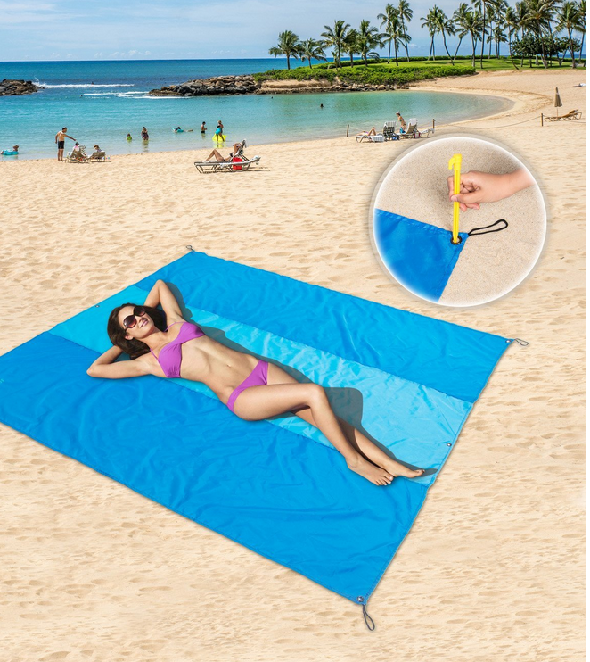 2017 New Style High Quanlity Beach Blanket Yoga Mat Beach Blanket