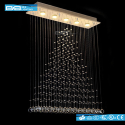 Residential hanging crystal lamp decoration cristal pendant light 2105255