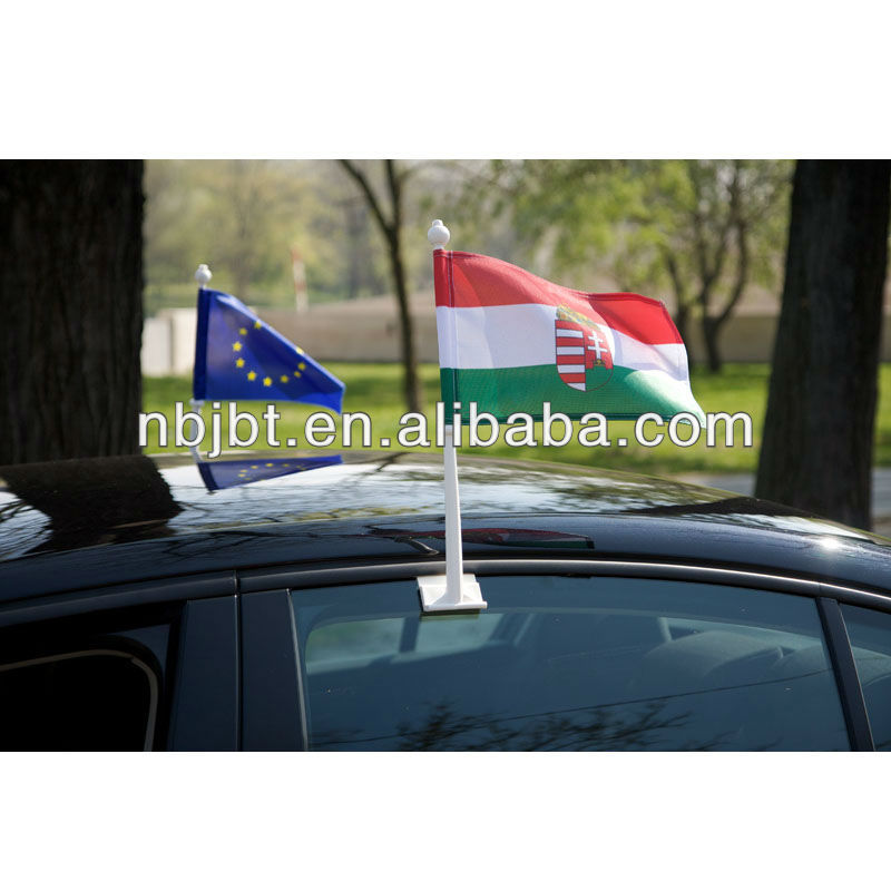plastic car window flag poles