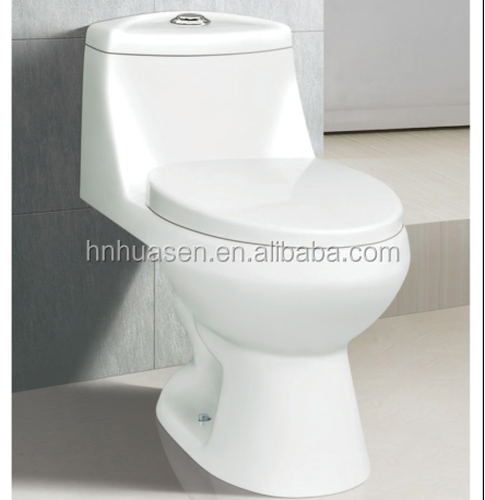 Sanitary Ware Ceramic One Piece Western Toilet Prices HOT-6602