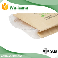 Product Warranty Shanghai Factory Price Kraft Paper Bag with PE Inner