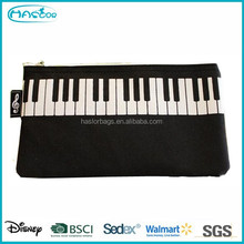 Music Printing Pencil Bag /Piano Printing Pencil Case for Men