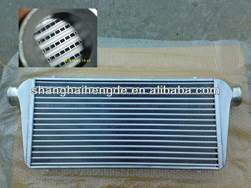 Universal intercooler 466*253.5*70 tube and fin water to air intercooler