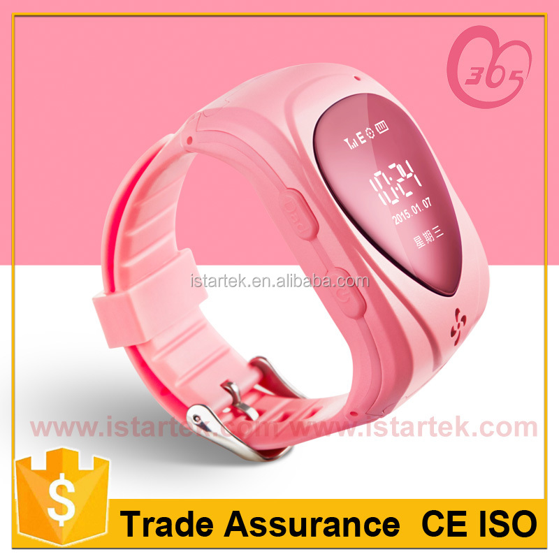 Wrist watch gps tracking device for kids PT80 with SOS