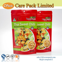 Resealable Stand Up Pouch With Zipper Dry Fruit Packaging Design