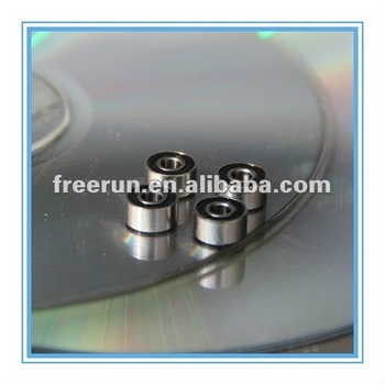 Deep groove Stainless steel ball bearing 3x9x5mm,S603-2RS Rubber sealed stainless steel bearing