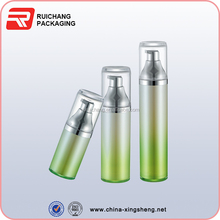 empty luxury cosmetic bottle packaging,50ml Plastic cosmetic Airless Bottle Airless Lotion Pump Bottle for Skin Care
