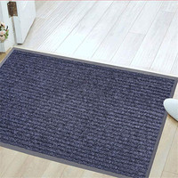 Anti Slip Ribbed Outdoor hotel door entrance mat from laiwu