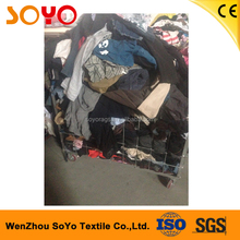 Adult used sports work clothes unsorted original used clothes second hand clothes in bales