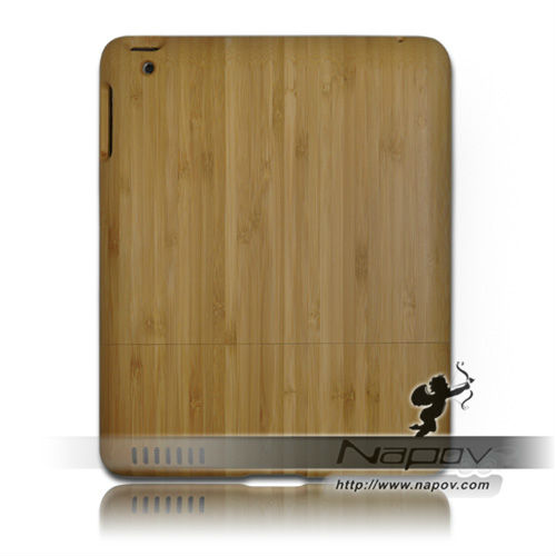 Natural bamboo product case for ipad 4 (paypal)