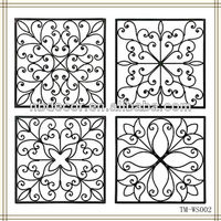 New design for 2013 metal wrought iron wall art