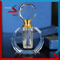 Refillable Crystal Manufacture Perfume Bottle For Wedding Decoration