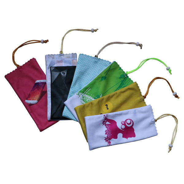 Custom Single Indian Drawstring Pouch