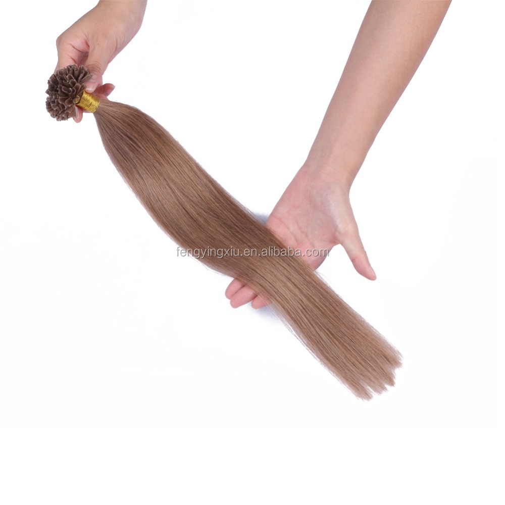 7A grade cheap Indian pre-bonded remy micro/flat/u/i/v tip hair extensions