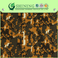 cotton polyester camouflage heavy weight fabric