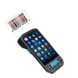 GPS data collection Android 7.0 handheld terminal 1D 2D laser barcode scanner OCR passport scanner Identity documents scanners