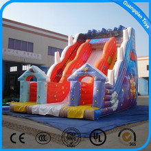 Guangqian Outdoor Commercial Large Inflatable Slip And Slide On Sale