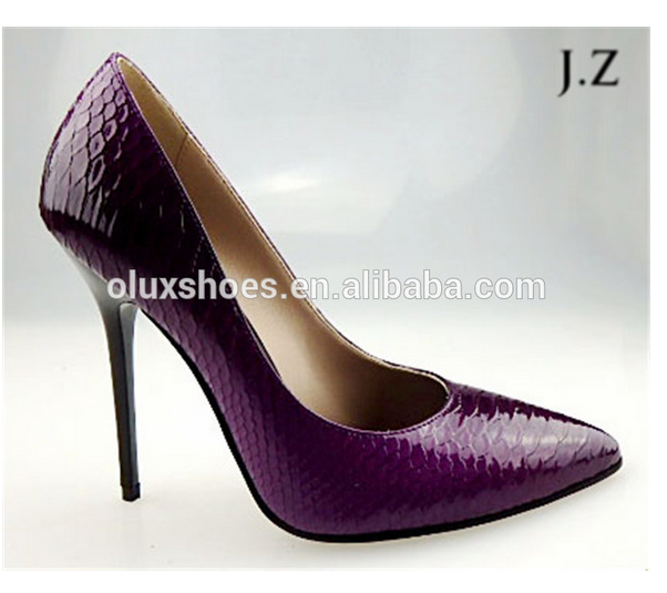 OP13 latest sexy high heel 2014/ 2015 women OEM leather l fashion women shoes ladies