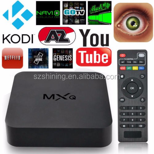 Cheapest s805 MXQ full hd 1080p digital cable tv set top box