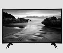 "Plastic Curved LED Television with Android System Smart LED TV 39inch 43inch 49inch 55"" 65"" Televisions With wifi"