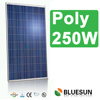 2015 High Quality Poly 250W flexible solar panel 12V with factory supply