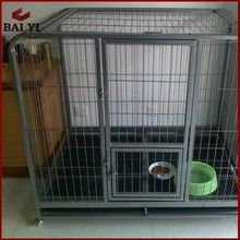 hot dip galvanized square tube welded mesh chain link dog cage