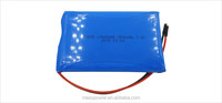Custom battery 2s 7.4v 3500mah air vehicle lipo battery pack