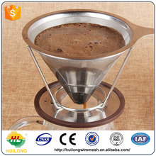Stainless steel coffee cone filter direct