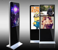 42inch free standing water proof lcd touch screen indoor advertising kiosk lcd digital signage