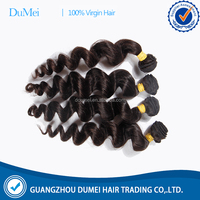 DuMei 8A grade selling loose wave human hair bundles indian hot sex photos for healthy girl natural hair