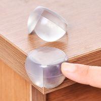 4Pcs Child Baby Safety Silicone Protector Table Corner Protection Cover Children Anticollision Edge Corner Guards Furniture