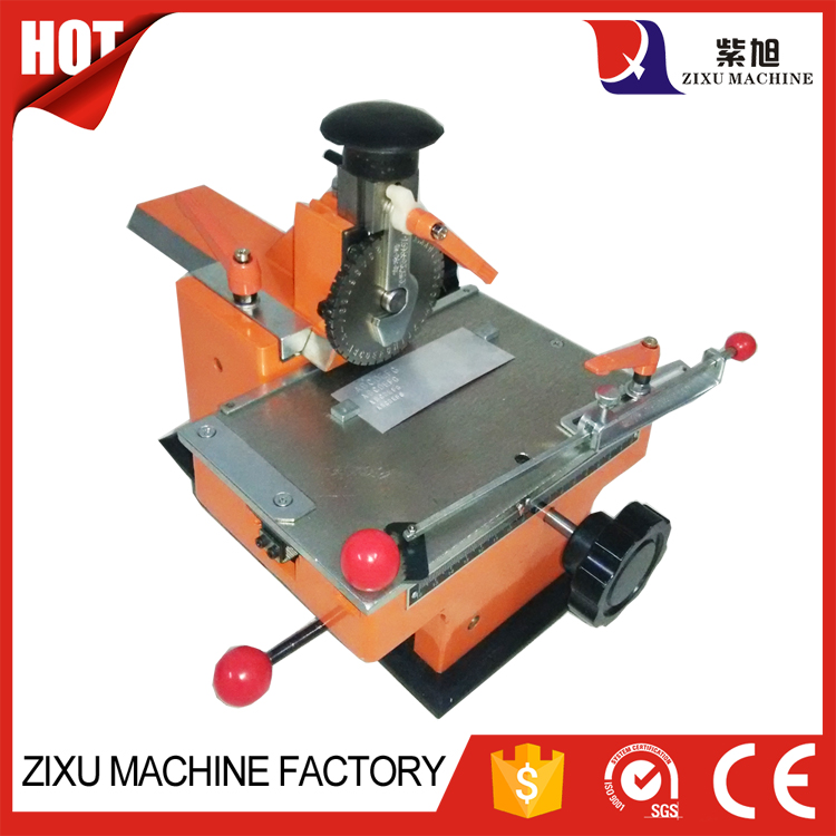 2-6mm Letter Aluminum Manual Numbering Plate Press Machine