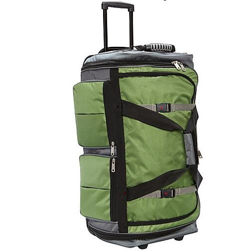 "15-Pocket 29"" Wheeling Duffel Bag"