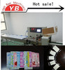 Factory Price Automatic Flow Pocket Tissue Wrapping Machine YB-250X