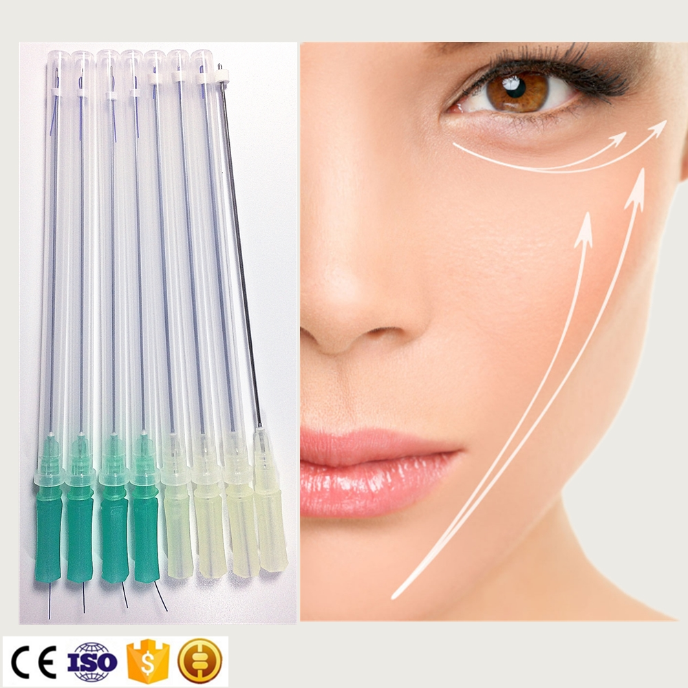 Aesthetic use PDO thread 3D Cog Canula for skin lifting