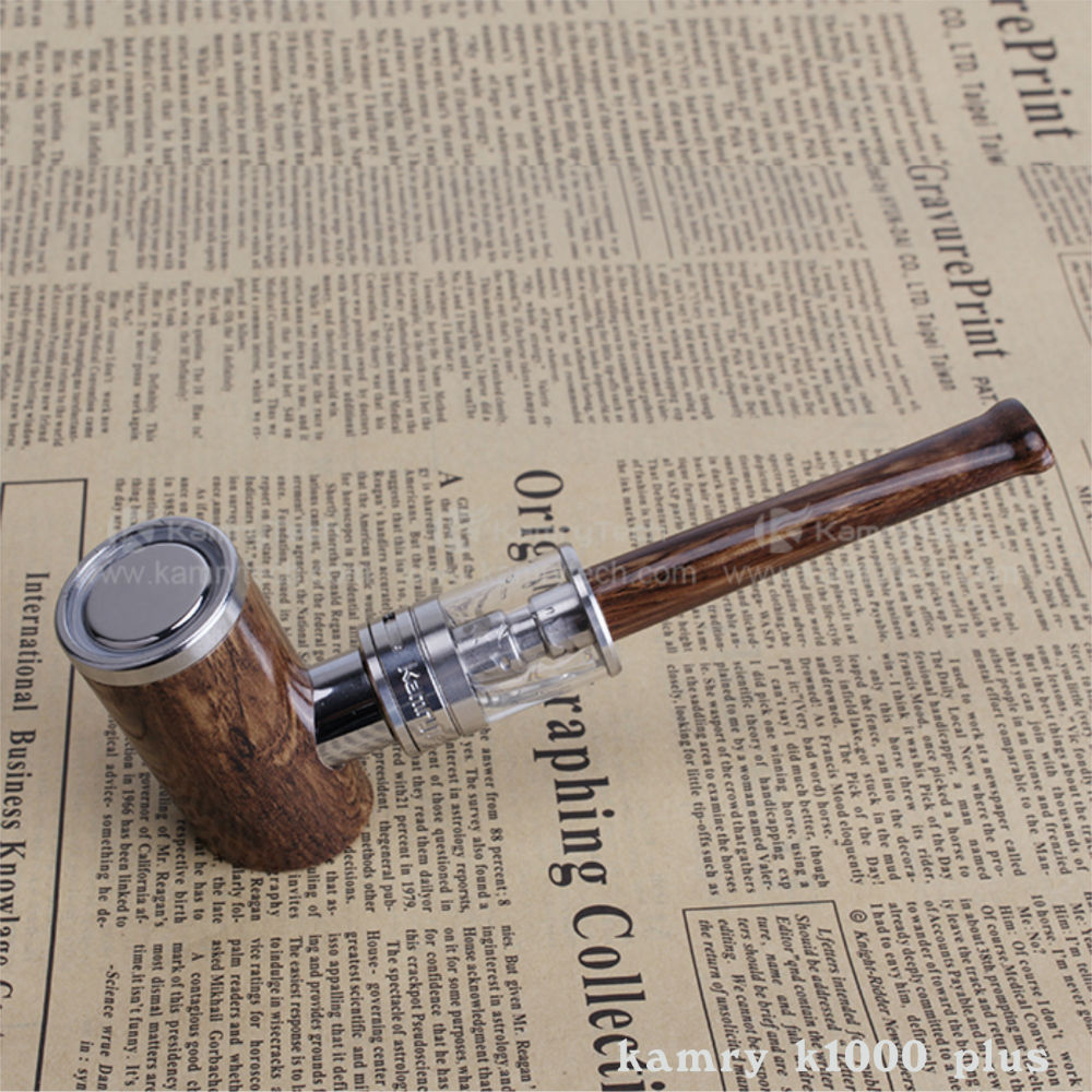 Latest design zinc alloy wood shape e pipe mod k1000 plus