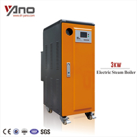 Power 3-15KW Capacity 4.3-21.5Kg/h Water Tube Mini Electric Steam Generator