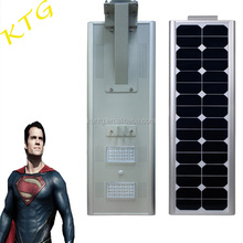 60w 70w Ce/rohs aprobado llevo solar street light poste de luz solar all in one 80w 100w